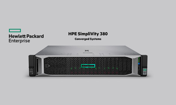 HPE SimpliVity cloud & opslag oplossingen