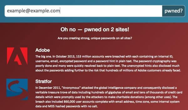 Benieuwd of je emailadres en paswoord ooit gelekt geweest zijn?